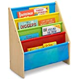 Delta Children Sling Book Rack Bookshelf for Kids