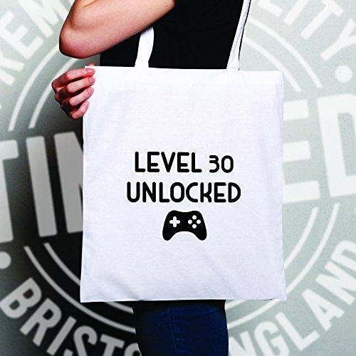 30 Ans Des Sac Unlocked Main Gamers À Cadeau Niveau Pour Tim Natural And Ted D'anniversaire q8AfftvW