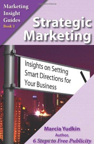 Strategic Marketing: Insights On Setting Smart Directions