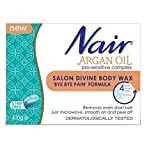 Nair Argan Oil Salon Divine Body Wax 'Bye Bye Pain' Formula - Pack of 2