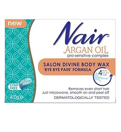 Nair Argan Oil Salon Divine Body Wax 'Bye Bye Pain' Formula - Pack of 2