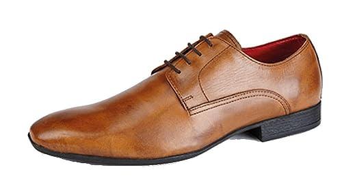 Route 21 - Zapatos de Cordones para Hombre, Color Azul, Talla 40 EU
