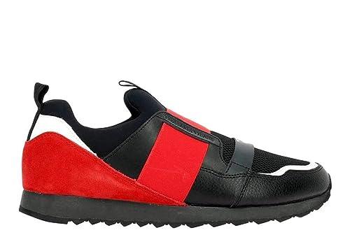 Trussardi Jeans 77A00102 Nero Sneakers Uomo Scarpa Casual  Amazon.it  Scarpe  e borse b2cef71e751