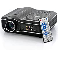 Yunan LED Projector with DVD Player 800x600 30 Lumens 100 1 Multimedia Home Theater