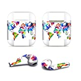 Zhhlinyuan dauerhaft Waterproof Protective Removable Cool Sticker Skin Cover Decal für AirPods Headset #1