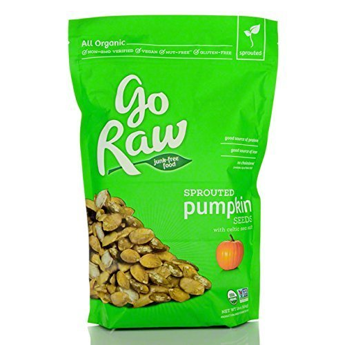 Go Raw Sprouted Pumpkin Seeds, 1 Pound Bag