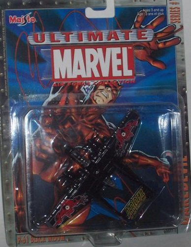 Maisto Ultimate Marvel Air Force Daredevil P-61 Black for sale  Delivered anywhere in USA