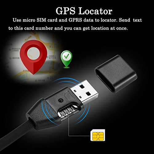 Jiusion GPS Audio Sound Listening USB Cable Charger Surveillance Device Quad band Real Time Tracker GSM GPRS System Bag Vehicle Tracking Alarm Device