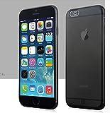 """MYLB apple iphone 6 4.7 """"copertura TPU custodia case cover morbida protettiva del respingente del telefono di alta qualità (0,7 mm di spessore) (trasparente Nero)"""