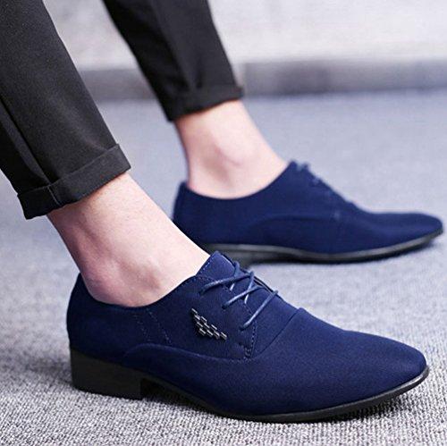 Azul Zapatos Lona Hombre de Feidaeu wI1dxEqptq