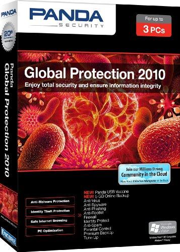 UPC 705381190301, Panda Global Protection 2010 3 User