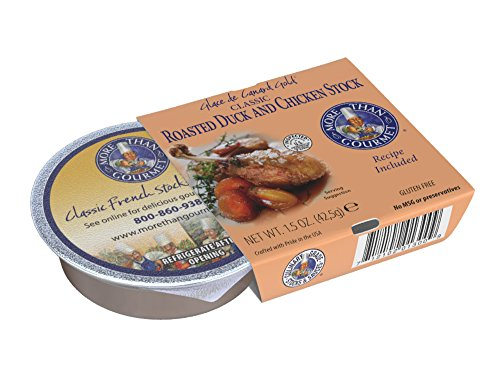 - More Than Gourmet Glace De Canard Gold Roasted Duck Stock, 1.5-Ounce Packages (Pack of 6)