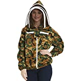 Natural Apiary Apiarist Beekeeping Jacket, 2X Small, Camouflage