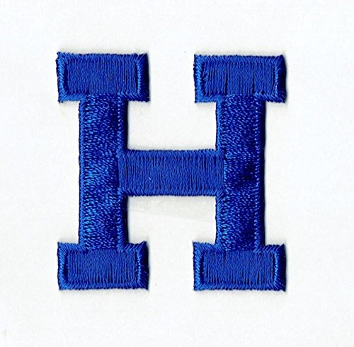 Alphabet Letters Blue - Alphabet Letter - H - Color Royal Blue - 2