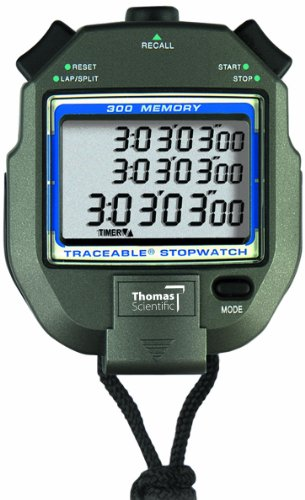 Thomas 300 Memory All Function Stopwatch with 1/4
