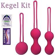 Ben Wa Balls Kegel Tightening for Internal Pelvic Floor Prolapse Weighted Exercise Set for Women
