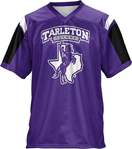 Men's Tarleton State University Thunderstorm Football Fan Jersey (Apparel) Storm Football Jersey