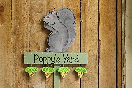 - Squirrel yard stake