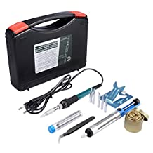 Soldering iron,Soldering iron kit,Soldering, Soldering Sponge with Violin Resin and Case