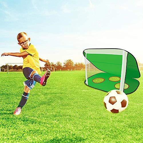 - Ketteb Online Store for Kids Toys 2 in 1 Pop Up Kids Soccer Goal Portable Kids Soccer Net Kids Soccer Target