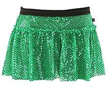 Green Sparkle Running Skirt M