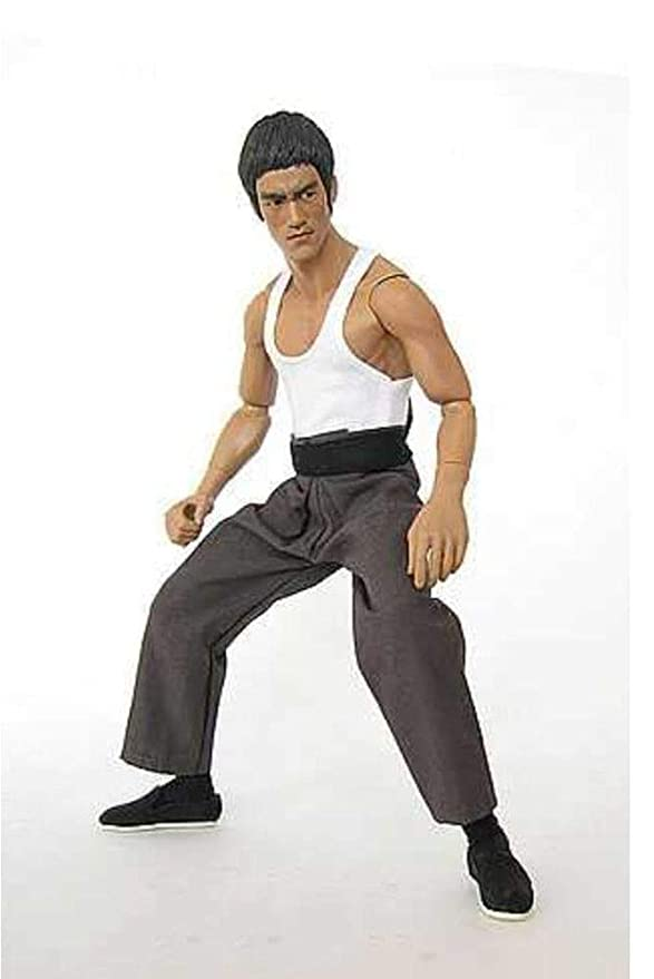 EEKUY Bruce Lee Toy Model, Bruce Lee Clothes Suit 1: 6 Doll ...