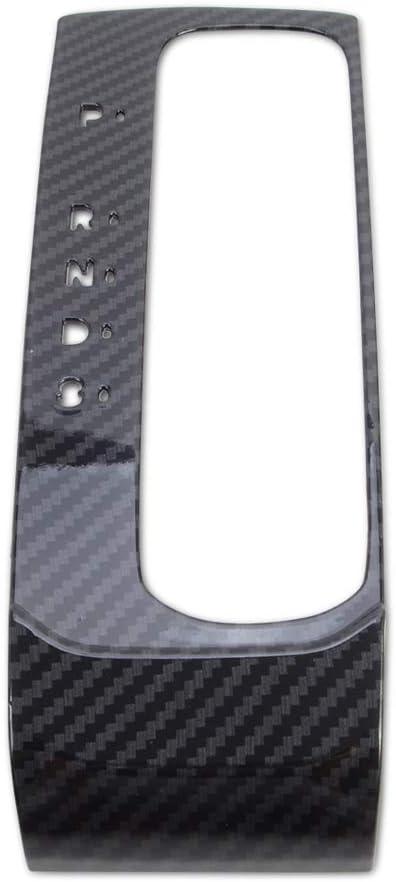 Kadore Interior 5 Gears Shift Panel Cover Trim for 2020 2021 Honda Civic Touring Sport Sedan Hatchback 10th Gen Civic Carbon Fiber Style LHD at
