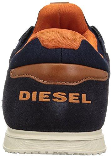 Diesel Mens Remmi-v S-fury Sneaker Blauwe Iris