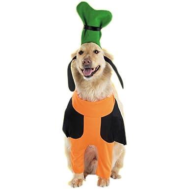 Pet Goofy Disney Dog Costume (Size Small)  sc 1 st  Amazon.com & Amazon.com: Pet Goofy Disney Dog Costume (Size: Small): Clothing