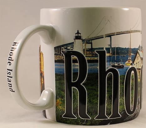 Amazon Com Rhode Island Coffee Mug Kitchen Dining