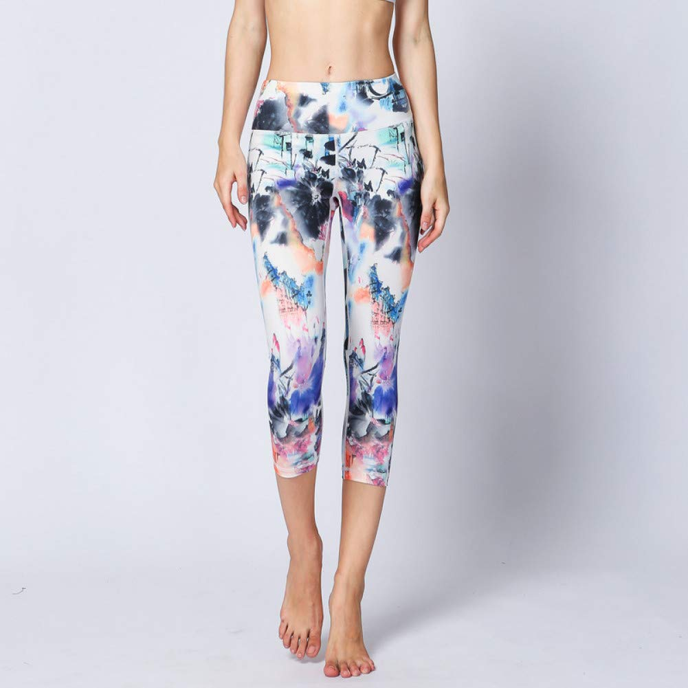 YUYOGAP Frauen Yoga Hosen Slim Running Fitness Leggings Hosen Strumpfhosen Atmungsaktive Sporthosen Quick Dry Gym Workout Sportswear