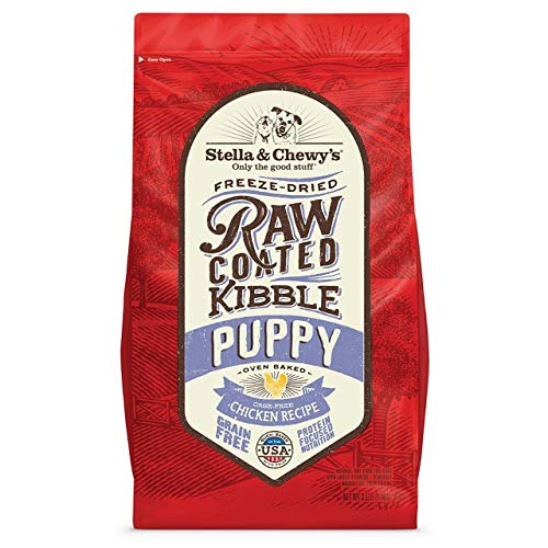 Stella 3.5Lb Raw Coated Puppy Kibble