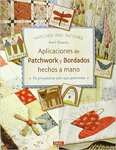 Aplicaciones de Patchwork y bordados hechos a mano: Amazon ...