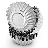 Non-Stick Egg Tart Molds - Reusable Baking Tinplate