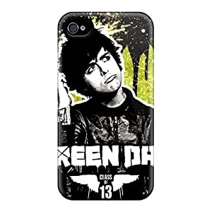 EricHowe Iphone 4/4s Shock Absorbent Hard Phone Covers Customized HD Green Day Band Series [OAf16528ySje]