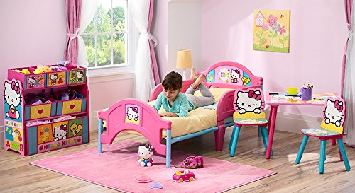 Delta Children Plastictoddler Bed Hello Kitty Buy Online In Uae Baby Product Products In