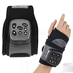 Wrist Brace, Hand Compression Carpal Tunnel Wrist Support Multifunctional Electric Wrist Heating Brace and Hand Pain Relief, Removable Splint Suitable for Both Right and Left Hands