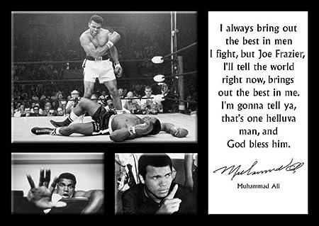 Muhammad Ali 18 A4 Leyenda Starlitesports Frases