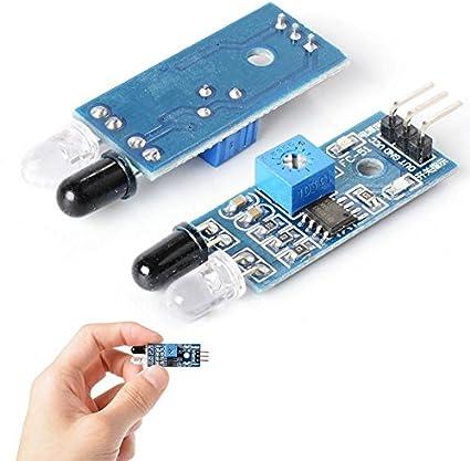 TecnoStore® - Módulo detector de obstáculos y movimiento arduino con sensor