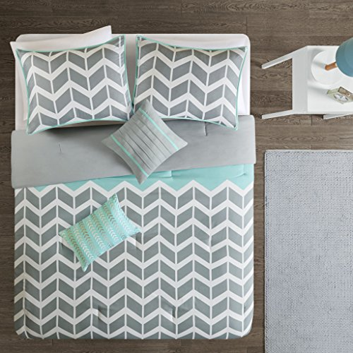 Intelligent Design Nadia Comforter Set Fullqueen Teal Import It All