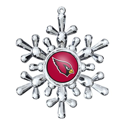 NFL Arizona Cardinals Traditional Snowflake Ornament