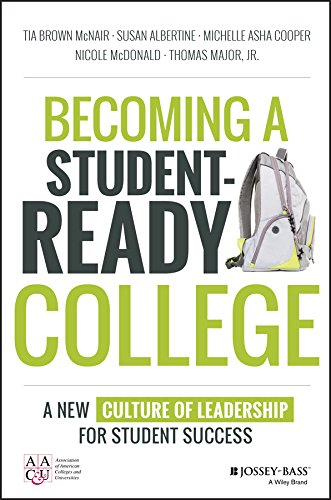- Becoming a Student-Ready College: A New Culture of Leadership for Student Success