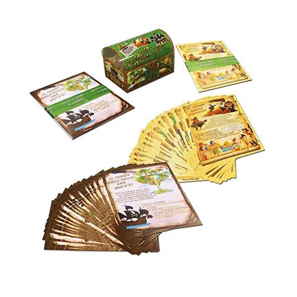 Caccia al tesoro in scatola in giardino - in spiaggia o casa/giardino 7-12 anni - per feste di compleanno - giochi per… 3 spesavip