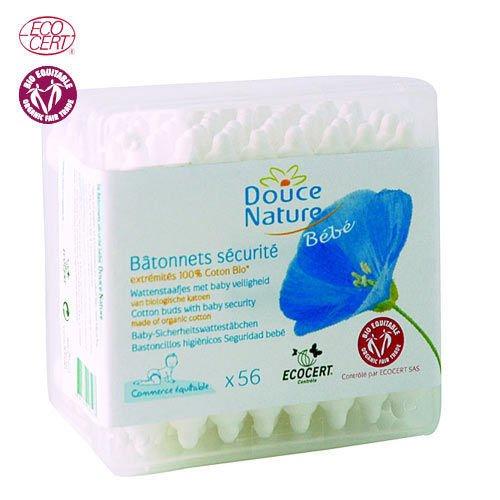 weiche natur-PRI 5024-Hygiene Baby-Stäbchen Sicherheit Baby Bio equita-56Einheiten