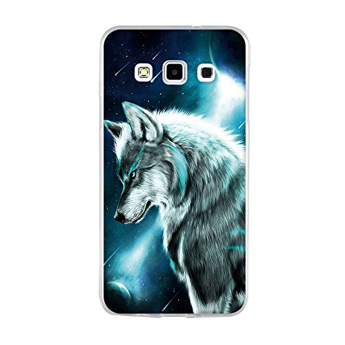 Funda Samsung Galaxy A3 Carcasa de Silicona, Fina, Ultra Suave con Cubierta Protectora, Trueno Rugiente, FUBAODA, Resistente a los Arañazos en su Parte Trasera, Amortigua los Golpes, Funda Protectora  pic:4