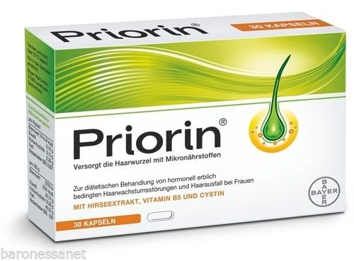 Price comparison product image Priorin Capsules X 120 Hair Growth Anti Hair Loss Treatment Shipping ALL World