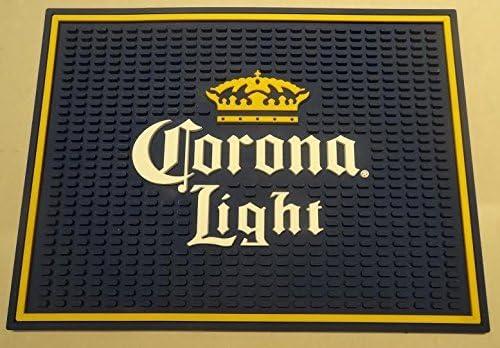 Corona Light Professional Wait Station Bar Mat Spill Mat Drip Mat