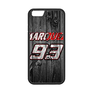 Marc Marquez 93 for iPhone 6 Plus 5.5 Inch Phone Case 8SS460191