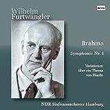 ブラームス : 交響曲 第1番 | ハイドンの主題による変奏曲 (Brahms : Symphonie Nr.1 | Variationen uber ein Thma von Haydn / Wilhelm Furtwangler | NDR Sinfonieorchester Hamburg) [Live Recording]