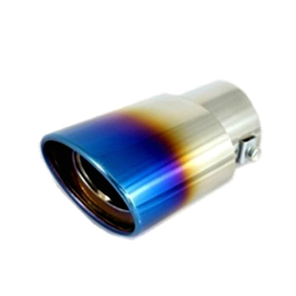 WINOMO Universal Stainless Steel Auto Exhaust Tail Tip Pipe Cover Muffler for Car